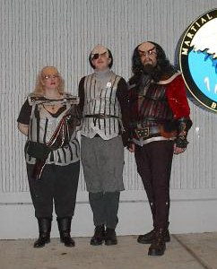 The few, the frozen, the Klingon Marines