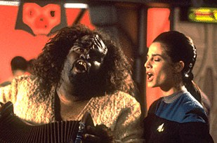 Did you know the accordian was originally a Klingon torture device?   It's true!